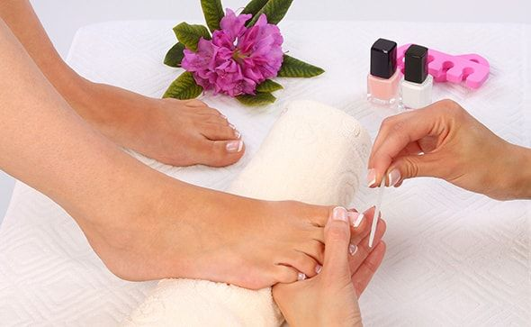 pedicure home